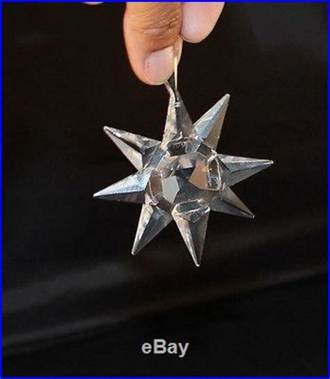 1991 swarovski crystal annual christmas tree ornament
