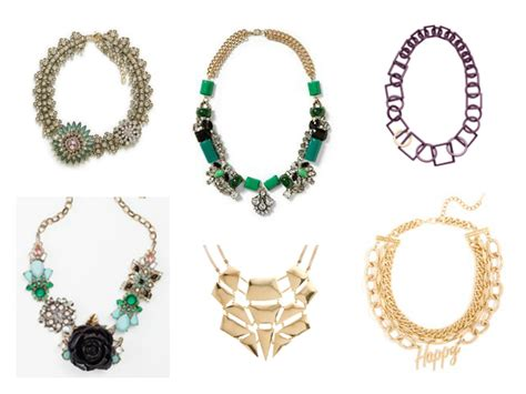 6 stunning statement necklaces 100