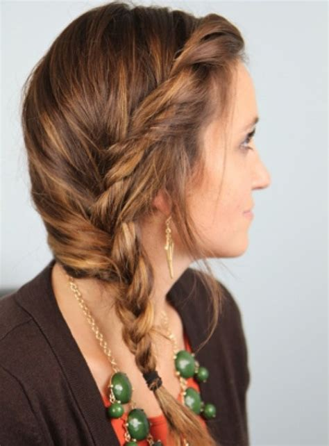 hairstyles braided on one side 20 stylish side braid hairstyles for long hair