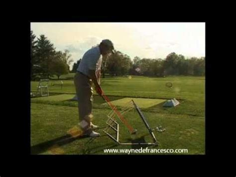diy golf swing trainer hank haney s plane finder a review by wayne defrancesco
