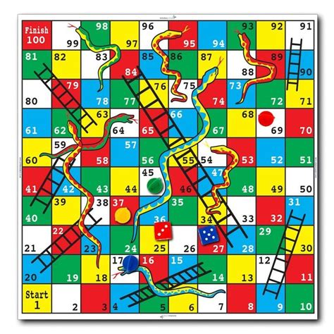 Picture Of Snakes And Ladders Board activities for elderly with dementia and alzheimer
