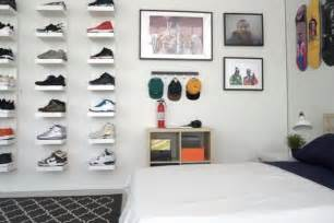 Mens Bedroom Decorating Ideas hypebeast ikea sneakerhead bedroom