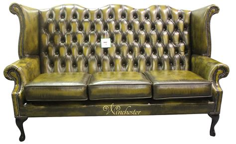 high back chesterfield sofa chesterfield 3 seater high back wing sofa chair