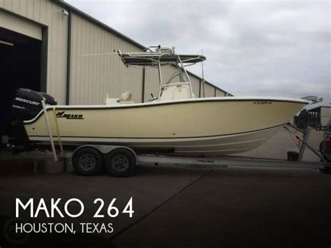 mako boats for sale texas mako 264 boats for sale in texas