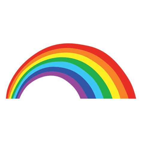 imagenes png arcoiris arco iris de colores de dibujos animados descargar png