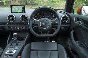 audi rs3 sportback 2015 2016 interior autocar