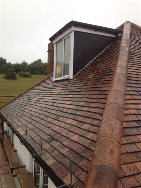 Building A Dormer On An Existing Roof Dormer Clay Tiles Relaid Solent Roof Building