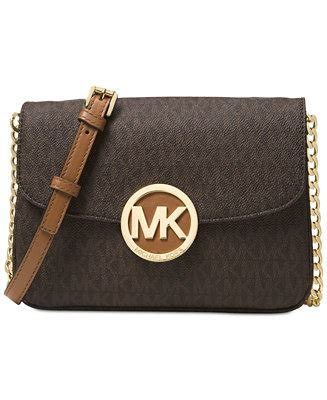 Dompet Clutch Michael Kors Mk Flap Carry Card Wallet Admiral Navy Michael Michael Kors Signature Small Fulton Flap Gusset