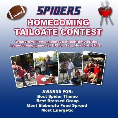 Tailgate Giveaway Ideas - sign up for the spiders homecoming tailgate contest