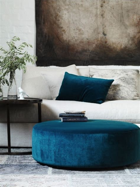 Get The Look Ottoman As Coffee Table