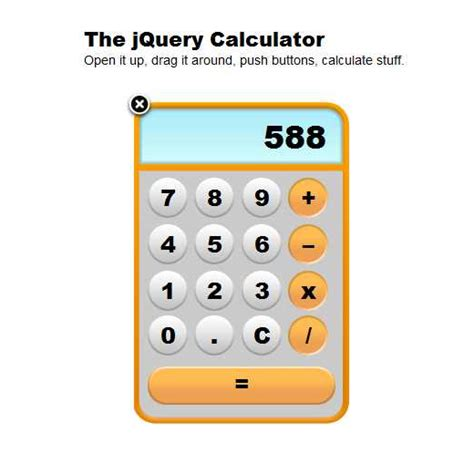 calculator using jquery 25 cool jquery tutorials for web developers graphicsbeam
