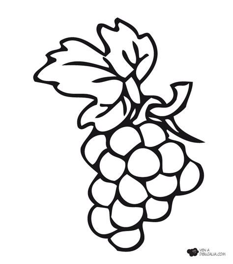 dibujo de iman para colorear y pintar dibujos para pintar uvas dibujos para pintar