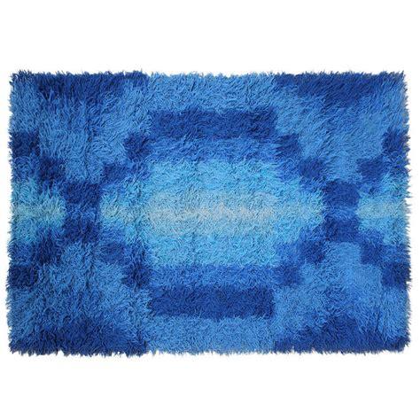 mid century modern geometric print scandinvian rya rug at