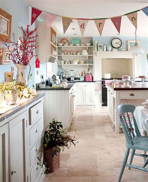 duck egg blue country kitchen stile country