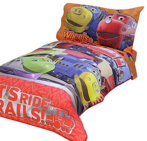 Chuggington Bedding by Chuggington Railroad Trains Toddler Bed Comforter Sheets