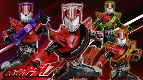 Kamen Rider Kamen Rider Drive seteguk kopi dimensi baru kamen rider kamen rider drive