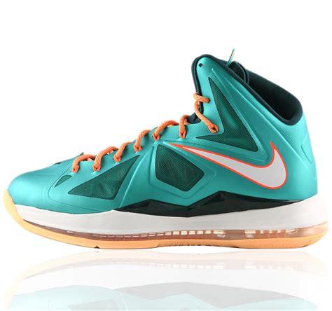 basketball shoes lebron 10 nike lebron x lbj10 dolphins basketball shoes lebron 10