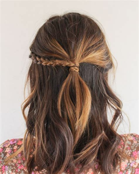 20 easy half up hairstyles that ll only take minutes to achieve the singapore s weekly