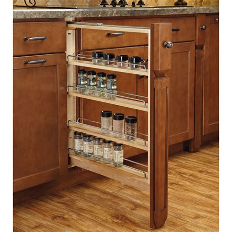 Kitchen Cabinet Filler by Rev A Shelf Kitchen Base Cabinet Fillers With Soft