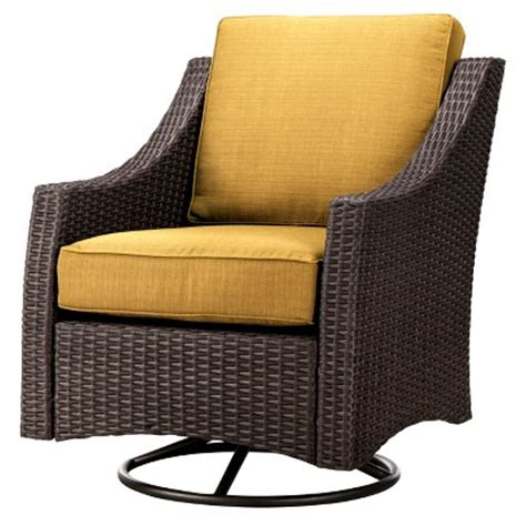 Threshold Belvedere Patio Furniture by Threshold Belvedere Wicker Patio Swivel Club Chair Target
