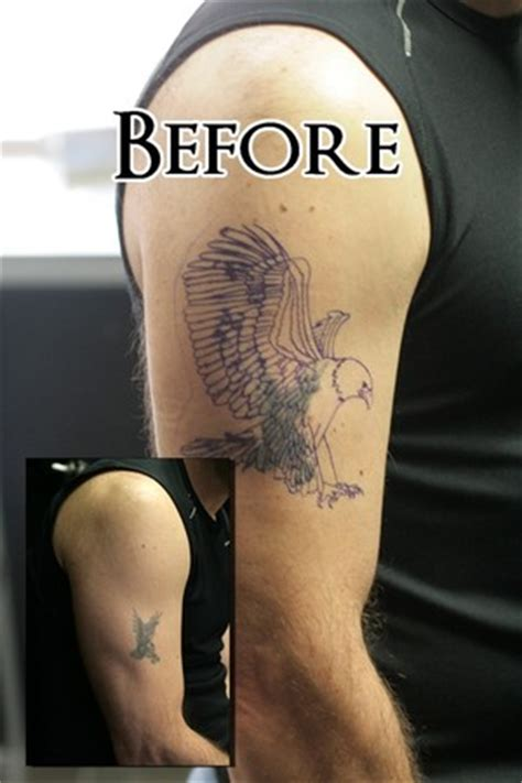 stretched out tattoos eagle cover up before by stretch tattoonow