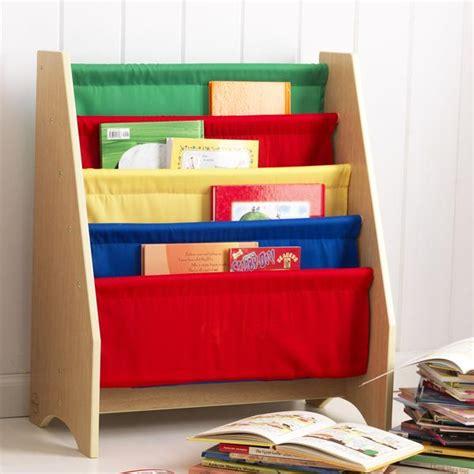 kidkraft primary sling bookshelf 14226 nurzery