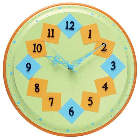 clock craft project clocks paw prints projects