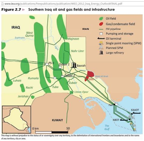 map of iraqi fields iraq needs 1 3 mb d additional exports and us 70