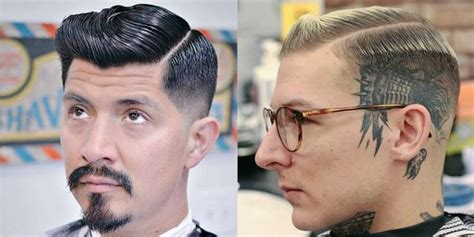 cost of hair cut in 1940 men s hairstyles with side partings side parting haircut
