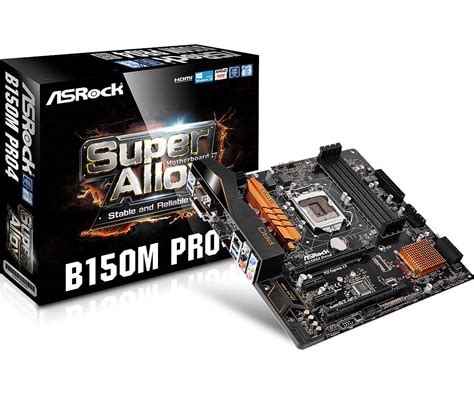 Motherboard Mainboard Intel Asrock B150m Pro4 Asrock Gt B150m Pro4