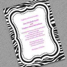 free zebra templates for invitations free invitations and other printables wendy werley