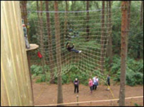 go ape tarzan swing bbc stoke staffordshire features going ape in