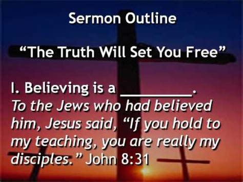 Reformation Sermon Outlines by Quot The Will Set You Free Quot Sermon By Rev Jim Busch Grace Lutheran Church