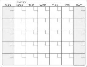 plain calendar template 7 best images of blank printable calendar 2016 8 5 x 11
