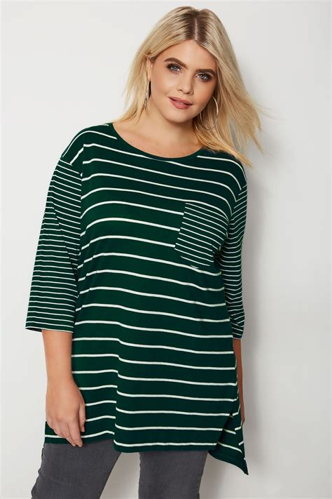 t mobile background check green contrast stripe pocket t shirt plus size 16 to 36