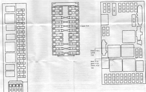 fuse box for mercedes wiring diagram with description