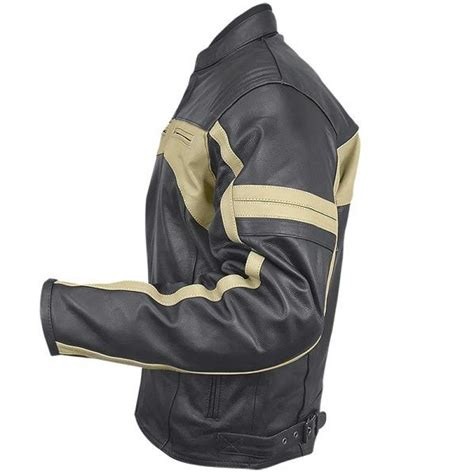 armored leather motorcycle men s classic armored leather motorcycle jacket