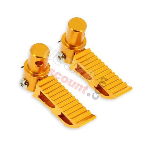 pedane minimoto pedane poggiapiedi tuning in color oro typo3 per pocket