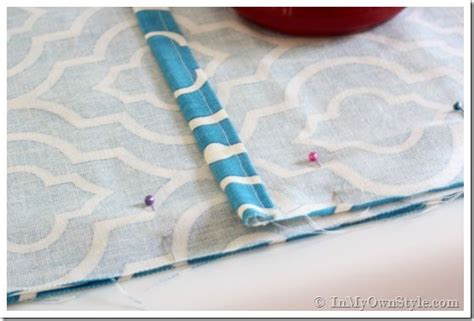 How To Sew A Mattress Cover by How To Make A Pillow Cover Without Using A Sewing Pattern
