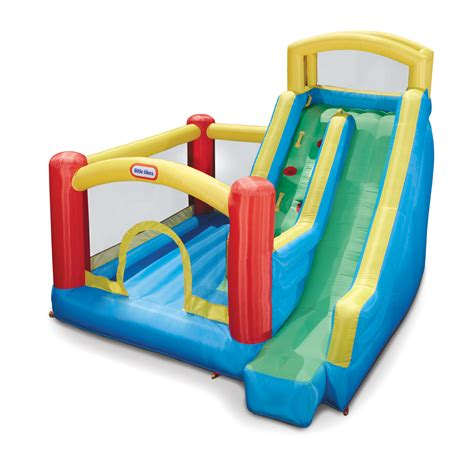 bounce house with slide little tikes giant slide bounce house