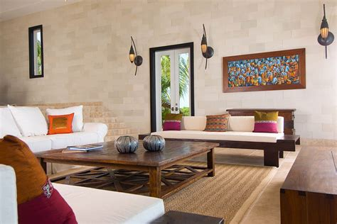 living room for balinese villa myturks and caicos