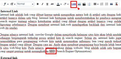 cara membuat link internal di html pengertian internal link dan external link serta cara