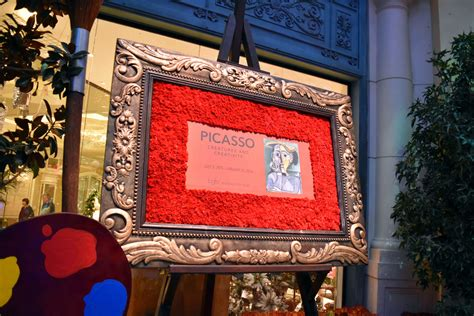 picasso paintings bellagio bellagio fall 2015 botanical gardens las vegas cvetybaby