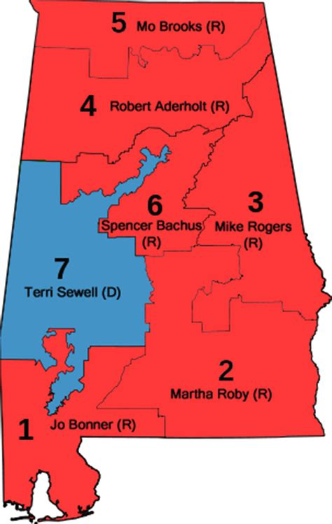 alabama house of representatives file alabama us house districts with representatives png wikimedia commons