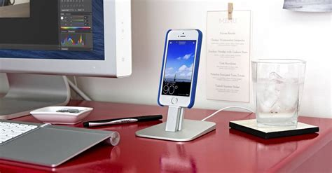 high tech katedra desk that charges your phone 5 minimalist stands for your iphone 5s