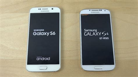 I Galaxy S4 samsung galaxy s6 vs samsung galaxy s4 which is faster
