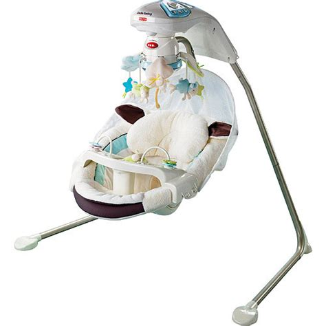 fiaher price swing fisher price cradle n swing nantucket baby