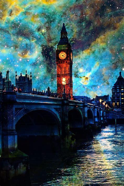 download wallpaper handphone hd 幻想的なロンドンの夜 iphone壁紙ギャラリー