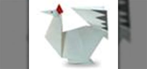 Origami Sitting - how to origami a sitting chicken japanese style 171 origami