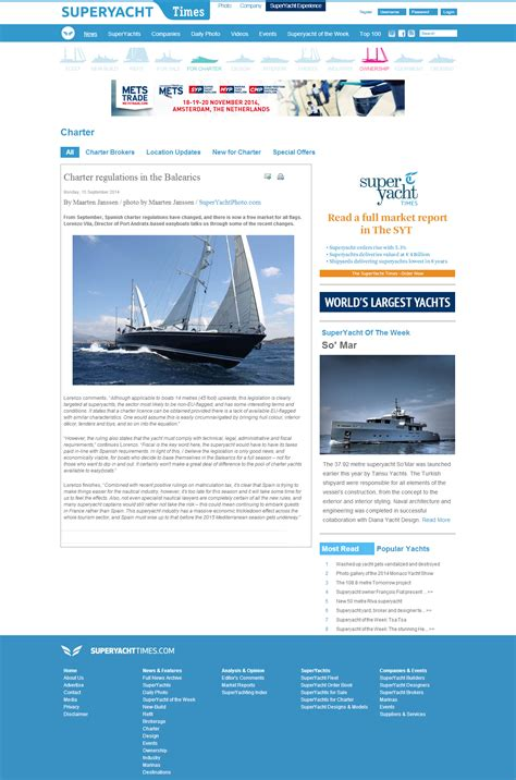 charter boat regulations easyboats featured in superyachttimes charter